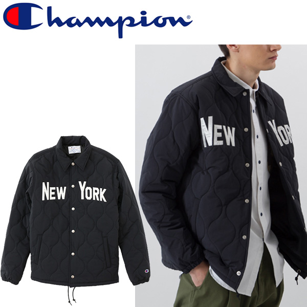 d20bb6d79ba4 Outer blouson jacket American casual casual C3L604 regular article  C3-L604  for the coach jacket men   champion champion campus man