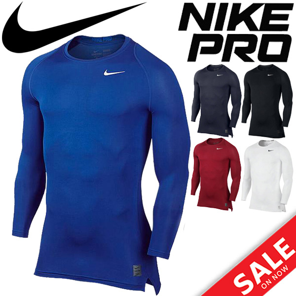 0ff9c4cf82 Nike Pro NIKE PRO men's undershirt compression training shirt crew long  sleeve 703089 ...