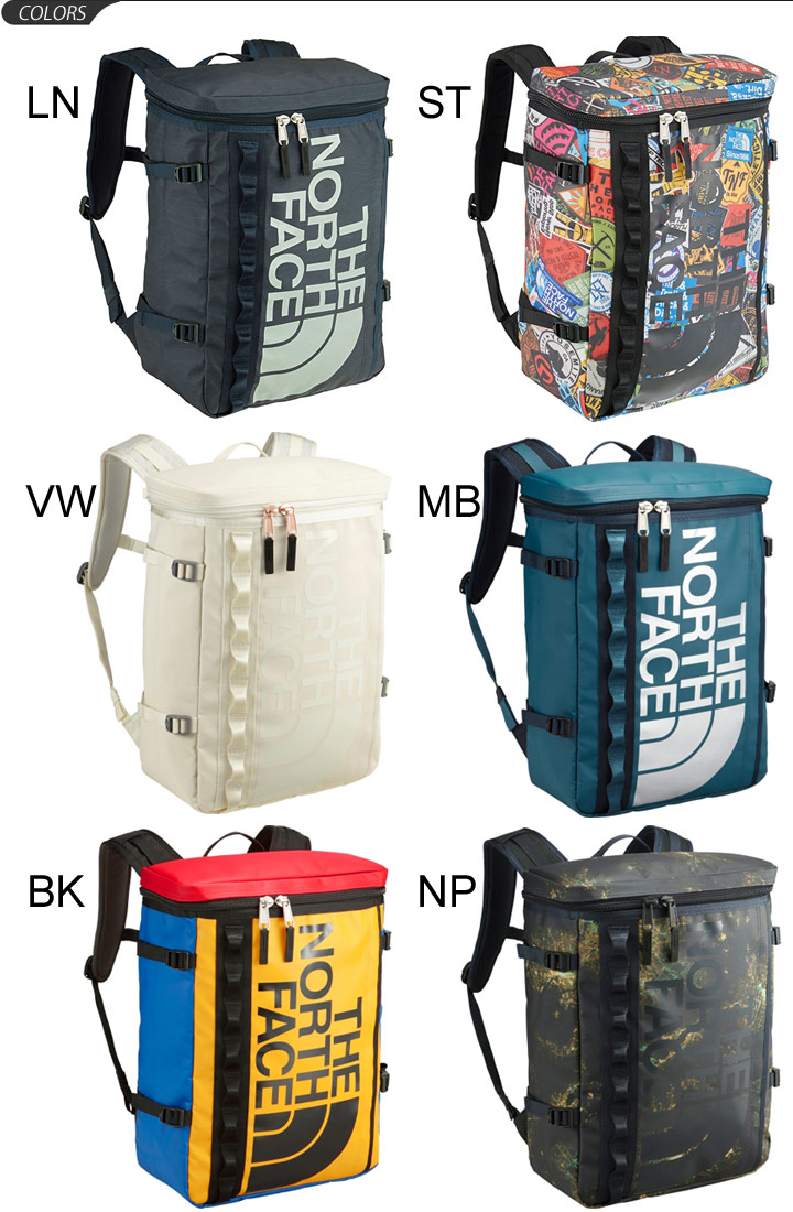 THE NORTH FACE base camp fuse box face box type backpack outdoor town  casual bag vertical bag bag mens Womens BC Fuse Box 30L commuter and school  rucksacks ...