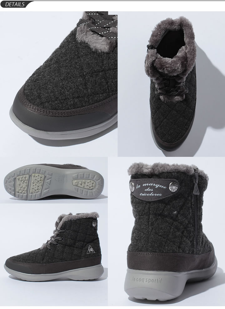 4e954cb201f ... Lady's bootie / Le Coq Le Coq Sportif LA yell Snow jog LO winter boots  light