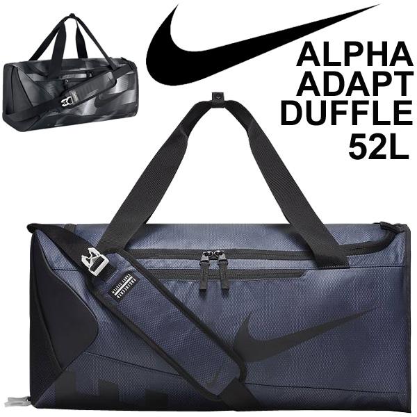 Nike duffel bag NIKE alpha adapt graphic medium size 52L sports bag Boston bag gym club activities game camp gym trip /BA5179
