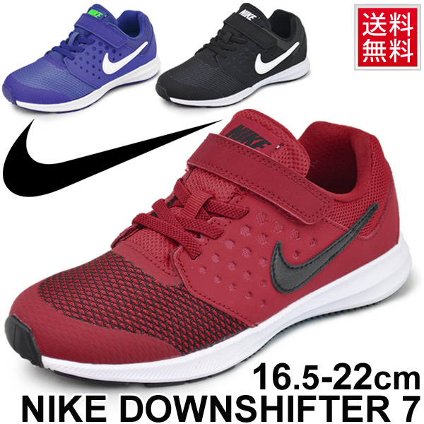 2858259ef2a5 Kids shoes Nike NIKE downshifter 7 PSV youth sneakers shoes DOWNSHIFTER7  16.5-22.0cm child shoes running shoes Velcro sports shoes going to  kindergarten ...