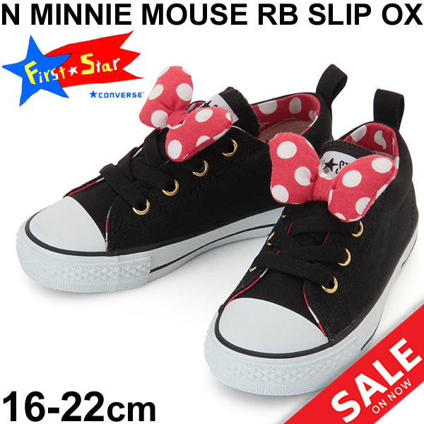 8acc9e22a9 APWORLD  Child child Converse converse sneakers Minnie Mouse RB slip ...