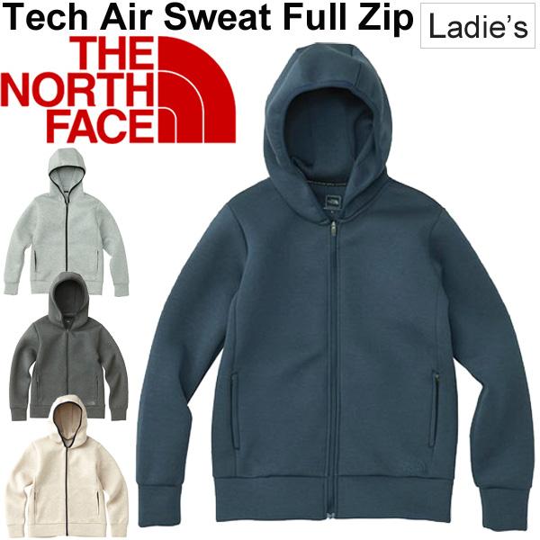 スウェット パーカー レディース ザノースフェイス THE NORTH FACE Tech Air フルジップ フーディ 女性用 トレーニングウェア スエット トレーナー カジュアル アウトドア トップス スポーツウェア 正規品/NTW11786