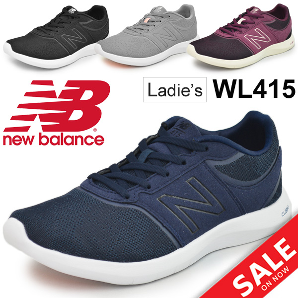 bad996f2eb D width sports casual low-frequency cut shoes sports shoes sports shoes  /WL415 for the running shoes Lady's New Balance newbalance jogging walking  ...