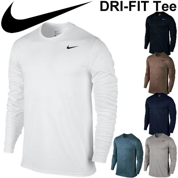 APWORLD  NIKE Mens long sleeve T shirt DRI-FIT tops t-shirt training  running sportswear men s casual   718838  d730fa1b0