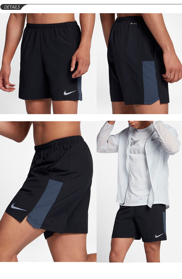c69b57738407 Running shorts men NIKE Nike  FLEX 7 inches Unrra India challenger short  pants jogathon gym training sportswear man shorts  856841
