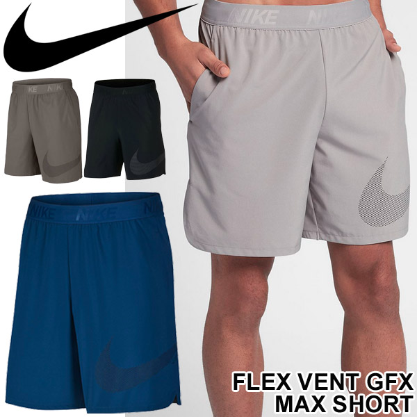 b47923c4b6c7 APWORLD  Half underwear men   Nike NIKE flextime vent GFX MAX  sweat pants  man bottoms running marathon gym short pants shorts sportswear  886293