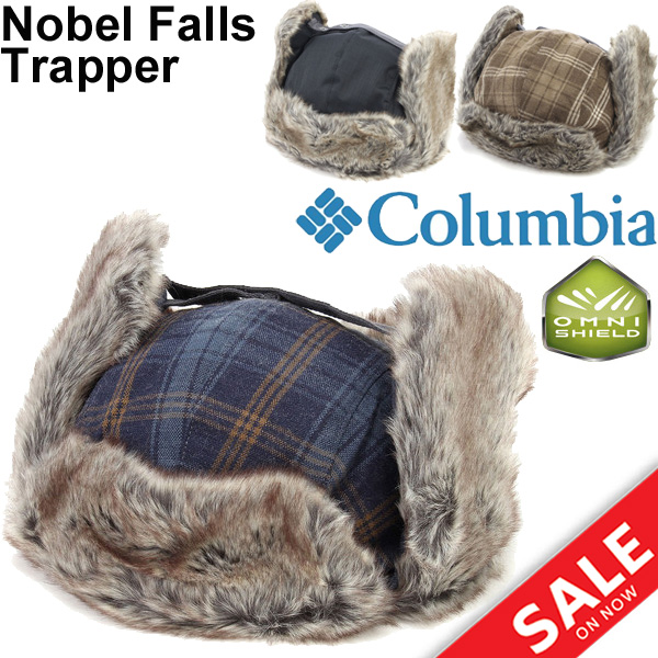 4126f3c88d3 Colombia Columbia novel falls II Trapper Hat Hat faux fur winter cold men s  outdoor  CU9221