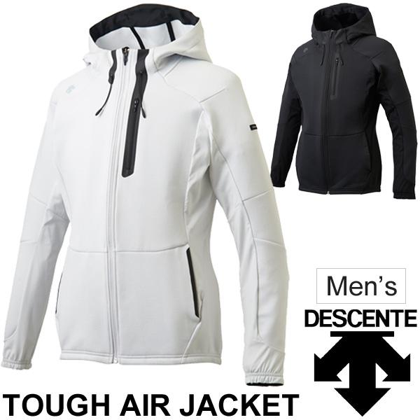 トレーニング ジャケット メンズ/デサント DESCENTE TOUGH AIR ジャケット/男性 アウター ブルゾン ジャンバー ランニング ジム スポーツウェア/DMMLJC20Z