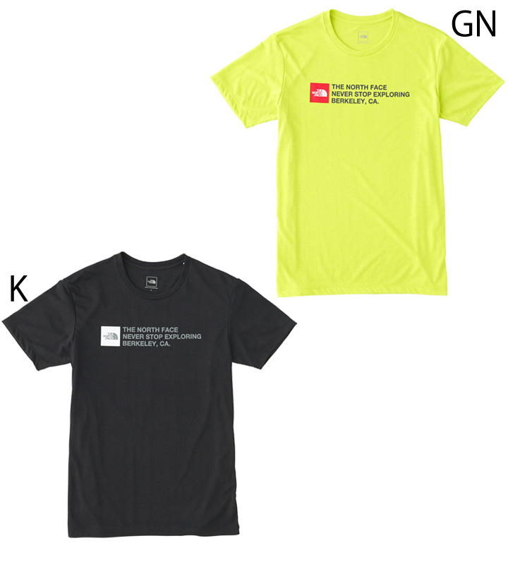 05b0cd643 T-shirt short sleeves men / North Face THE NORTH FACE TNF square logo tea /  man outdoor running sports casual wear cut-and-sew /NT31893