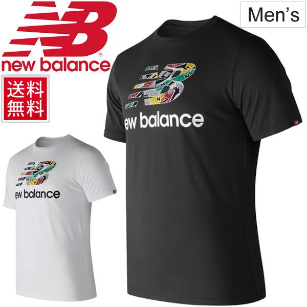 d86e754919451 APWORLD: T-shirt short sleeves men / New Balance newbalance NB Phil ...