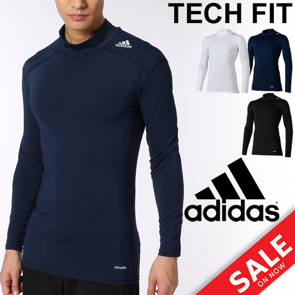 Hurt kup dobrze ładne buty Adidas men technical center fitting long sleeves high neck undershirt inner  shirt soccer running sports training suit man base shirt /BJK83