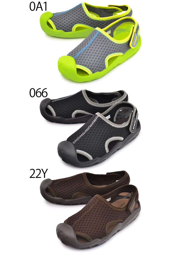 fdc904157e8f Sandals kids clocks crocs Swift water land and water for two uses swiftwater  kids sandals water shoes youth child shoes 15.0-21.0cm recreation sea pool  ...