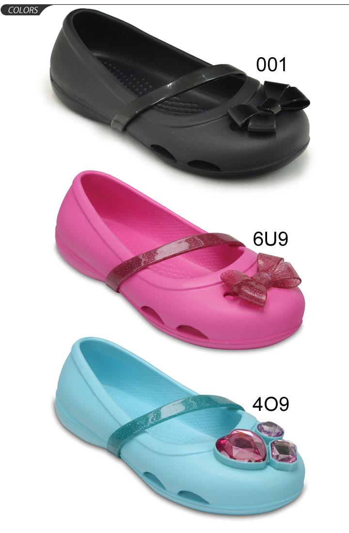 e56ba8a4bec228 Child 15.0-21.0cm ぺたんこ flat crocs lina flat kids regular article ballet  shoes 204028 of the clocks kids sandals Rina flat girls youth child shoes  strap ...