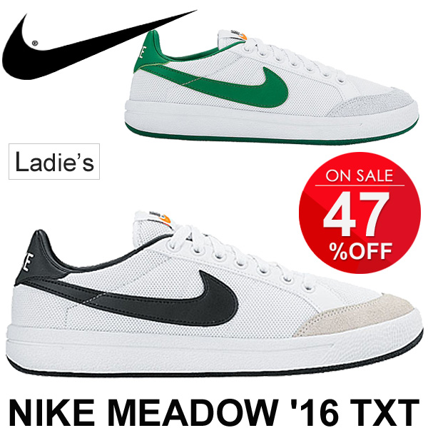 Ladies Shoes NIKE Nike sneakers Womens meadow 16 textile shoes tennis shoes  style shoes MEADOW ' 16 TXT casual shoes for women / 833674 / 05P03Sep16