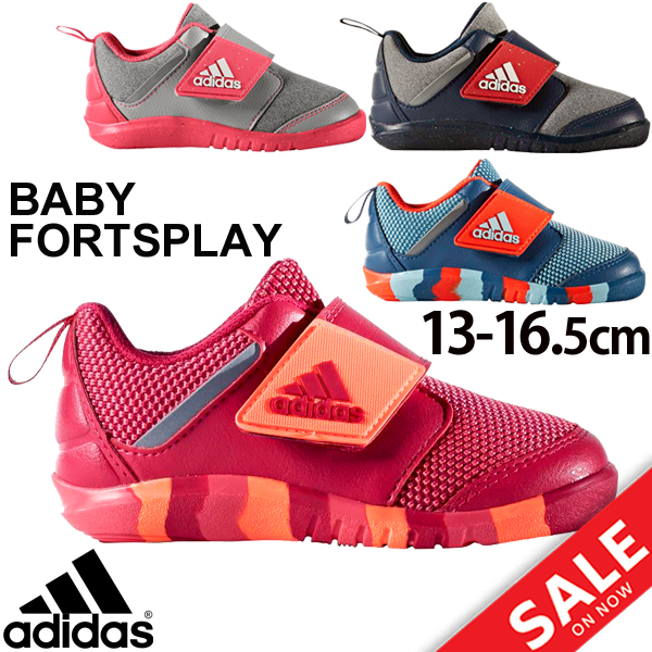 Child child adidas Adidas baby shoes child shoes 13.0-16.5cm BABY FortaPlay  AC I Velcro light weight infant boy girl going to kindergarten ...