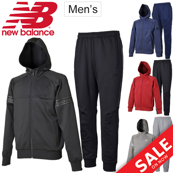 ジャージ 上下セット メンズ/ニューバランス newbalance T360 Line ジャケット パンツ/トレーニング ジム ランニング 男性 スポーツカジュアル 裏メッシュ 上下組 スポーツウェア/JMJP8180-JMPP8124