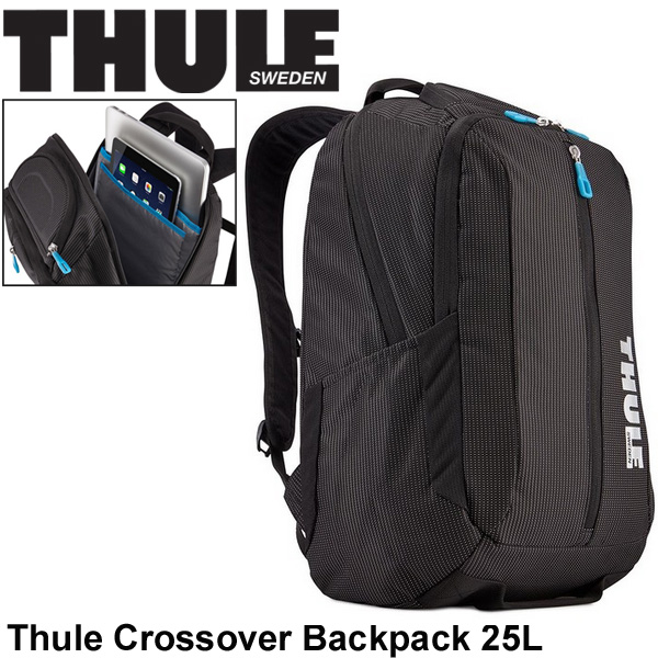 ノートパソコン用 バックパック スーリー THULE Crossover 25L PC収納 リュックサック デイパック カジュアル メンズ レディース 出張 通勤鞄 正規品/TCBP317K