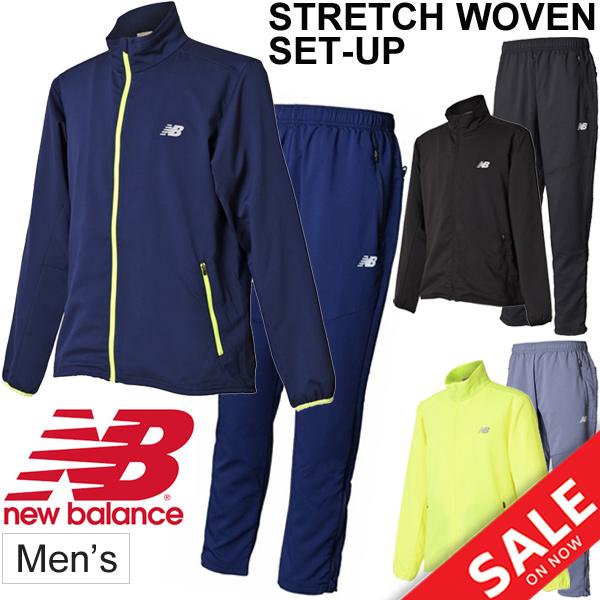ウインドブレーカー 上下セット メンズ/ニューバランス newbalance R360 ストレッチウーブン ジャケット パンツ/トレーニング ジョギング ランニング ジム 男性 ウインドブレイカー スポーツウェア /JMJR8107-JMPR8108