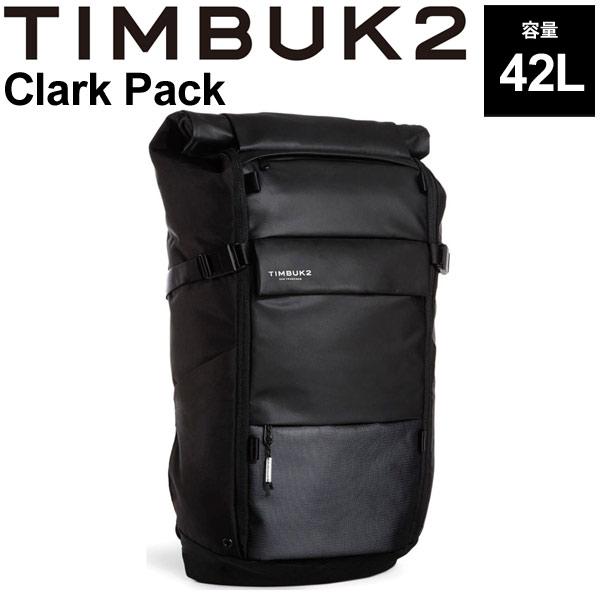 バックパック TIMBUK2 ティンバック2 クラークパック OSサイズ 42L/リュックサック ロールトップ ザック B4サイズ対応 鞄 かばん Clark Pack 正規品/136536114【取寄】