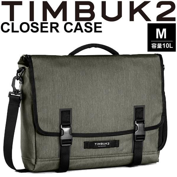 ブリーフケース ショルダーバッグ TIMBUK2 ティンバック2 The Closer Case ザ・クローザーケース Mサイズ 10L/ビジネスバック 手提げ メッセンジャー 鞄 正規品/181041268【取寄】