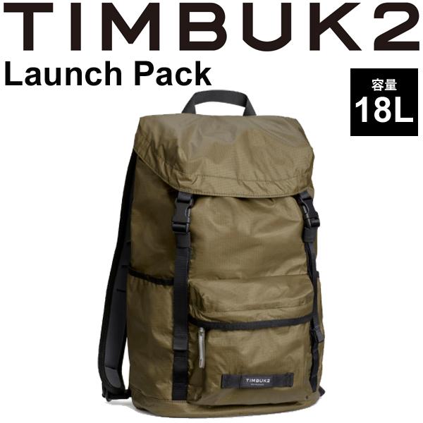 バックパック TIMBUK2 ローンチパック Launch Pack ティンバック2 OSサイズ 18L/リュックサック 雨蓋 トップローディング式 ザック デイパック 鞄 正規品/853234274【取寄】