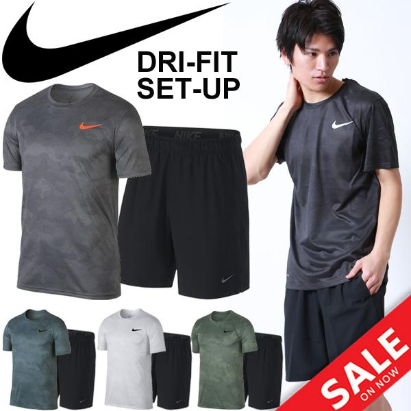 4ceab920 Training suit top and bottom set men / Nike NIKE/ sportswear short sleeves  T- ...