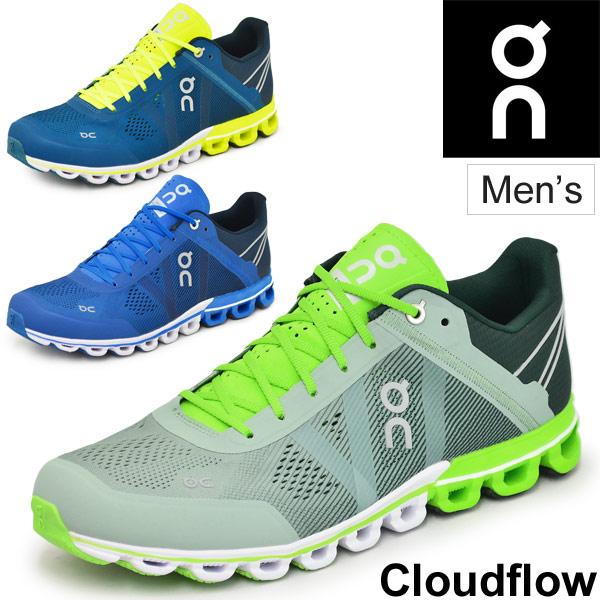 ランニングシューズ メンズ オン on クラウドフロー マラソン ジョギング トレーニング 男性用 ローカット スニーカー 154032M 154329M 1599991M スポーツシューズ/CloudFlow