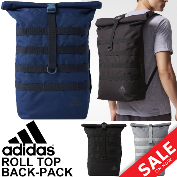 really comfortable 100% genuine sale retailer Backpack Adidas adidas rucksack day pack roll top 16L sports bag training  men unisex gym casual bag commuting attending school street /DMC95