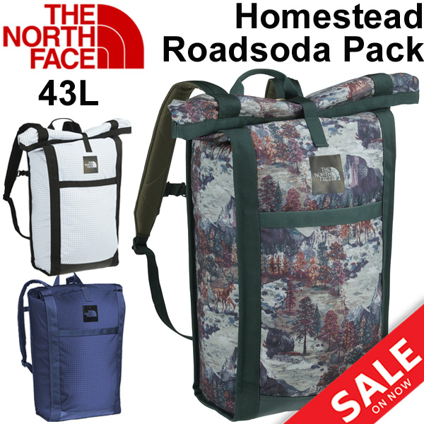 ef69f5de6 Backpack rucksack the North Face THE NORTH FACE outdoor bag 43L simple air  conditioner bag waterproofing men gap Dis Homestead Roadsoda Pack regular  ...