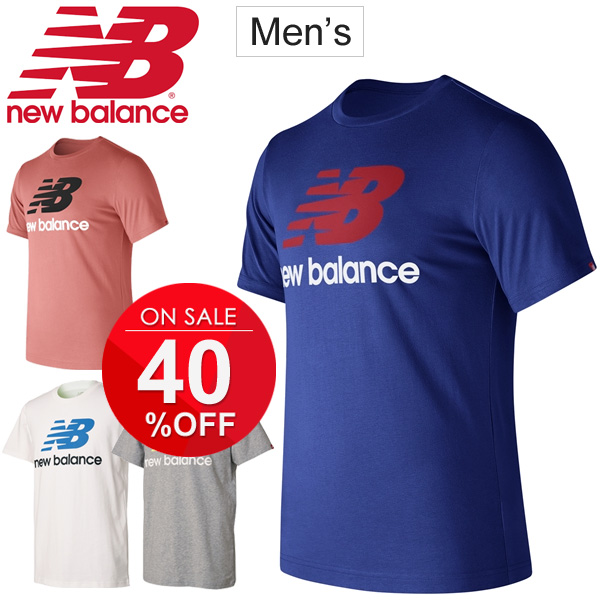 1b4910aa9b383 Training running jogging gym sports casual tops /AMT73587 for the T-shirt  short sleeves men New Balance newbalance logo T print T man