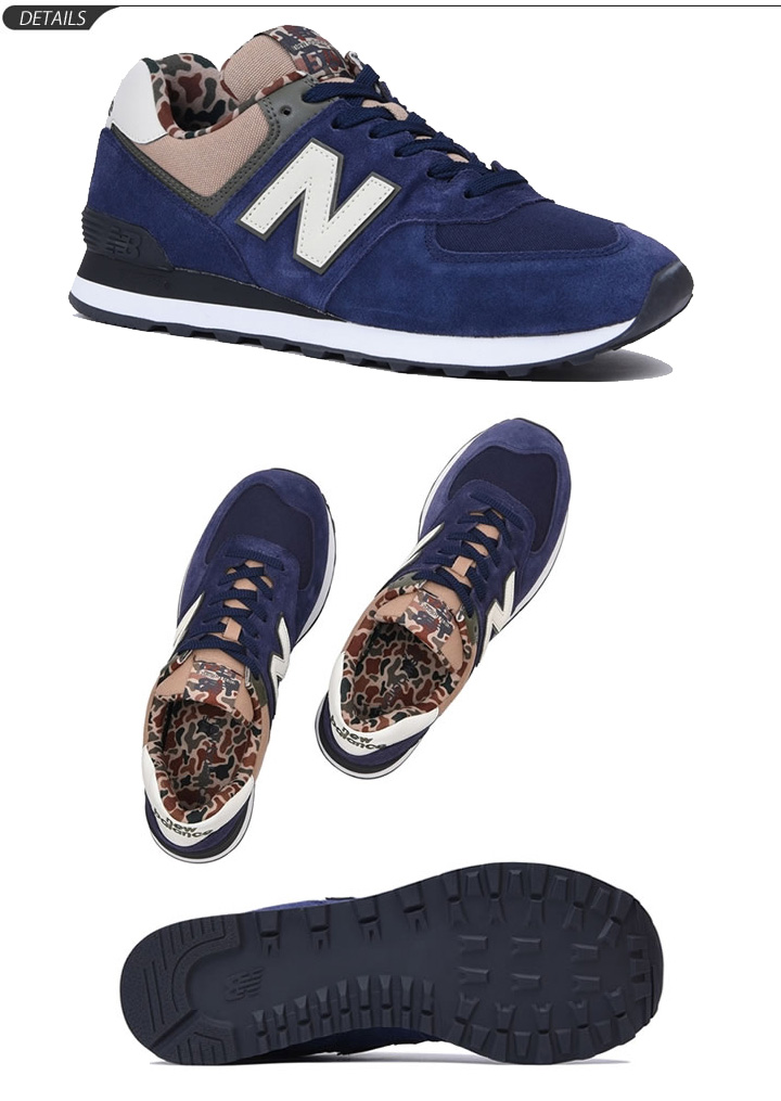 8b3ec306cfb D width sports casual gentleman shoes regular article  ML574-NB for the New  Balance sneakers men new balance ML574 low-frequency cut shoes man