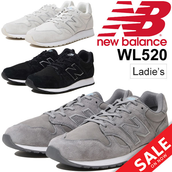 7485102534eb Lady s shoes New Balance newbalance WL520  sneakers low-frequency cut woman  B width sports casual nostalgic suede shoes sports shoes regular article   WL520-