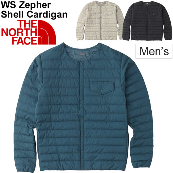 インナージャケット 中わた ダウン メンズ メンズ ザノースフェイス THE NORTH FACE ウインドストッパーゼファーシェル カーディガン/防寒着 男性用 アウター ブルゾン アウトドア カジュアル/ND91861