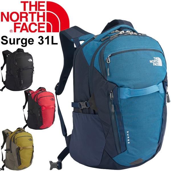 バックパック デイパック メンズ レディース/ザノースフェイス THE NORTH FACE サージ SURGE 31L/リュックサック 鞄 カジュアル 定番 通勤 通学 BAG ザック ユニセックス/NM71852