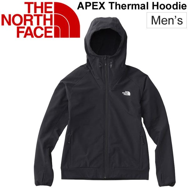 パーカー シェルジャケット メンズ ザノースフェイス THE NORTH FACE エイペックスサーマルフーディ/アウトドアウェア 男性用 アウター フード付き 裏起毛/トレッキング キャンプ 上着/NP71801
