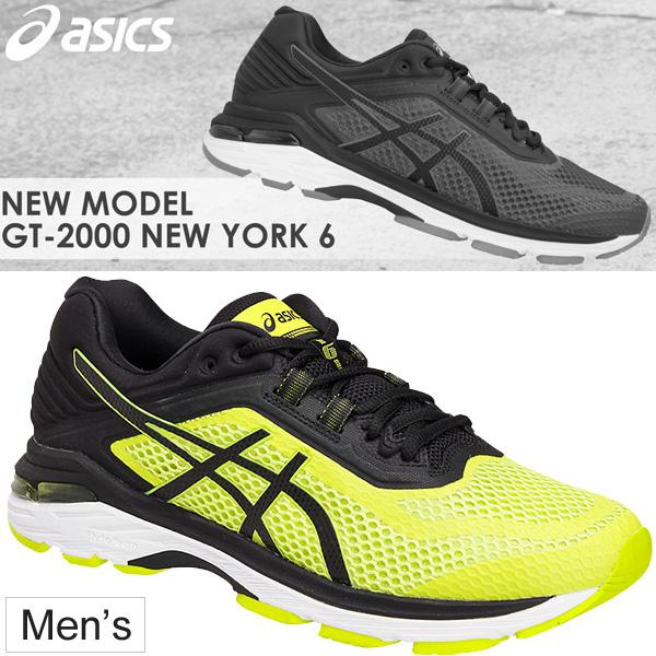 ランニングシューズ メンズ/アシックス asics GT-2000 NEW YORK 6 マラソン サブ4~5 ジョギング 陸上 男性 初心者 軽量 くつ スポーツシューズ 靴/TJG977