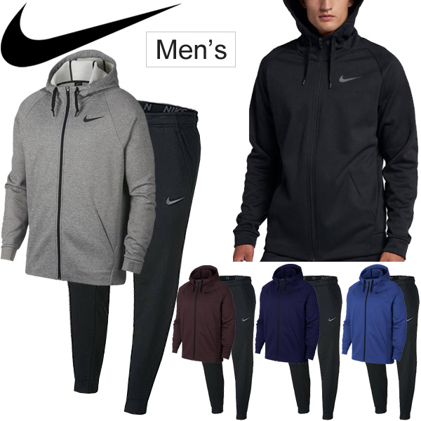3c671db904 Sweat shirt casual house coat setup  931997-932256 for the sweat shirt top  and bottom set men Nike NIKE THERMA sportswear THERMA full zip parka  tapered ...