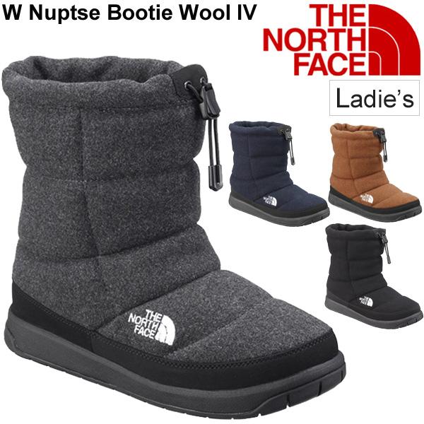 ウィンターブーツ レディース シューズ /ザノースフェイス THE NORTH FACE ヌプシ ブーティー ウール IV/スノーブーツ 女性用 防寒 保温 撥水 雪 雨 靴/NFW51878