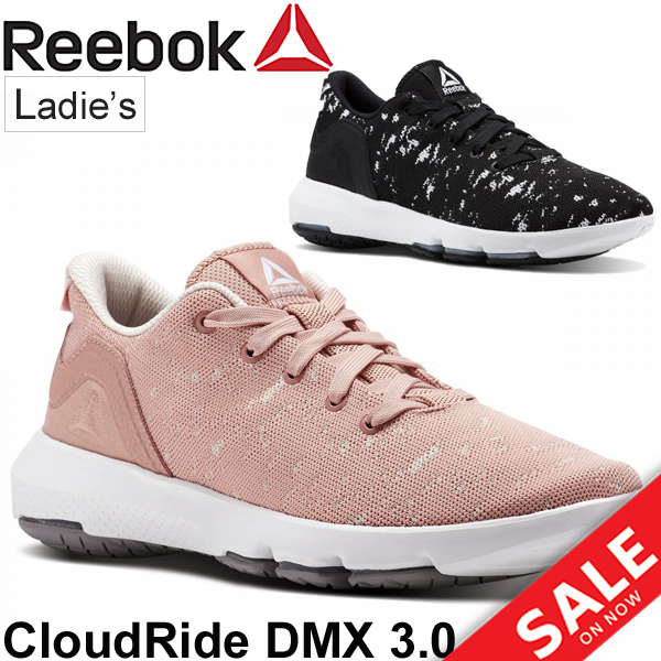 ad6ba8e3c6 Walking shoes Lady's / Reebok Reebok cloud ride DMX 3.0/ woman  low-frequency cut sneakers BS9478/BS9489/ casual shoes pink black shoes  /CloudRide