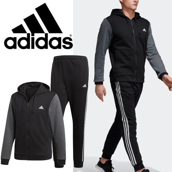 トレーニングウェア 上下セット メンズ アディダス adidas CO ENERGIZE トラックスーツ 裏起毛/スウェットジャケット ジョガーパンツ スポーツウェア 上下組 /DTU35