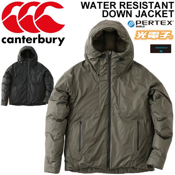 ダウンジャケット メンズ カンタベリー canterbury RUGBY+/ラグビー アウター 男性 コート ジャンパー ウォーター レジスタント/ RP78546