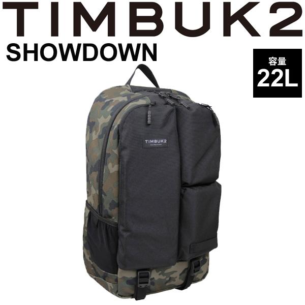 バックパック TIMBUK2 ショウダウン Showdown Pack ティンバック2 OSサイズ 22L/ラップトップ リュックサック ザック 鞄 正規品/34631138【取寄】