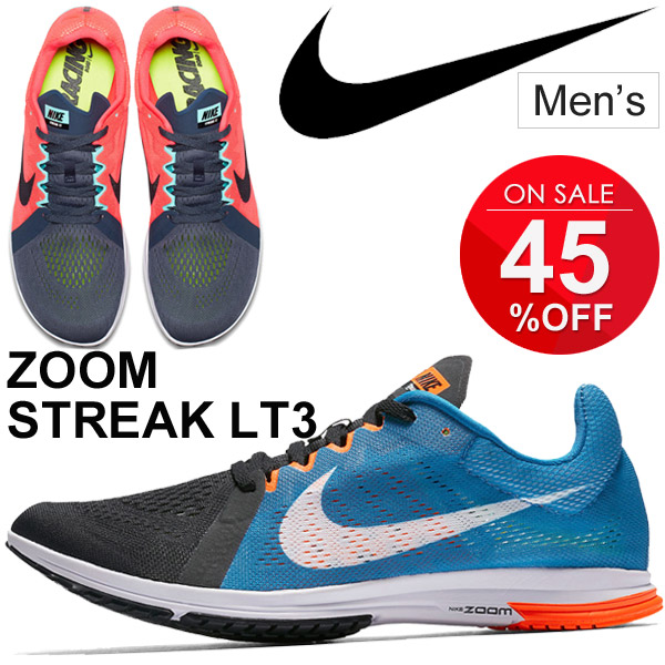 48cdd604496b Running shoes Nike NIKE men s women s sneaker zoom streak LT 3 marathon  training gym shoes unisex sports exercise shoes   819038   05P03Sep16