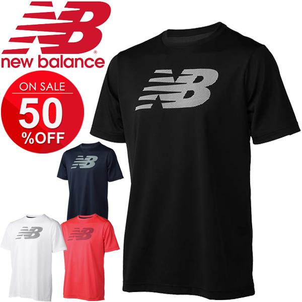 9be0e513b2bad APWORLD: T-shirt short sleeves men / New Balance newbalance/ logo T ...
