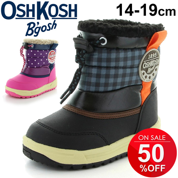 c285e65ff Snow-covered road shoes /OSK-WC151SP with child child Oshkosh OSHKOSH cold  protection shoes child shoes 14.0-19.0cm boy girl shoes MoonStar moonstar  ...