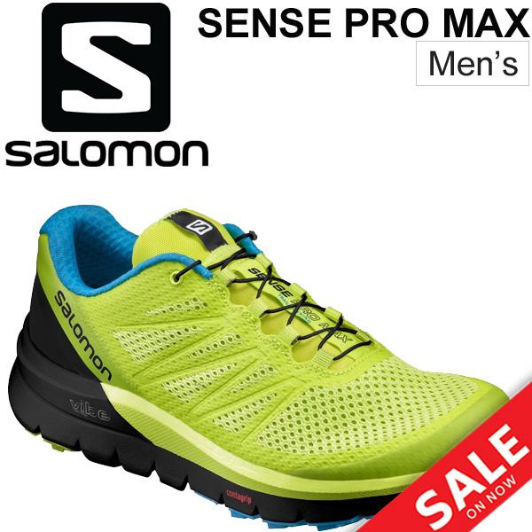 ランニングシューズ トレイルランニング メンズ サロモン SALOMON センスプロマックス SENSE PRO MAX 長距離 ロード ライトトレイル トレラン 男性 スニーカー 運動靴 スポーツ/SenceProMax