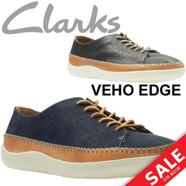 割引クーポンあり★メンズシューズ クラークス メンズシューズ ビオエッジ Clarks Veho Edge レザー ヌバック 天然皮革 シューズ 紳士靴 男性 くつ ブラック ネイビー 正規品/VehoEdge