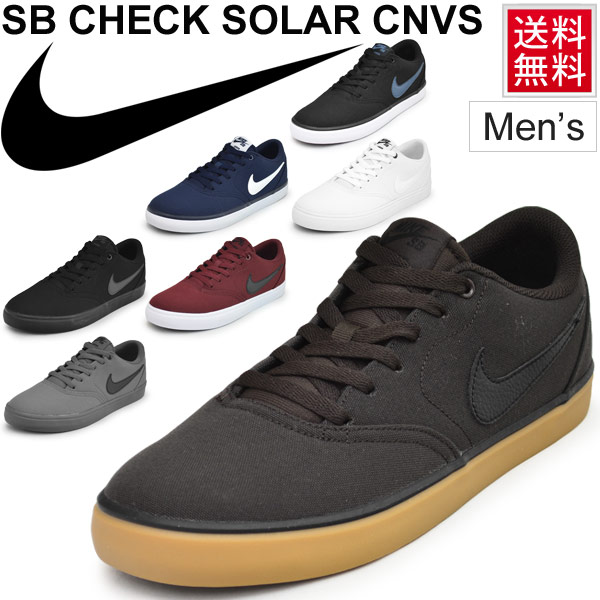 the latest f4f7e 34f5b Casual street vulcanized shoes  843896 for the ☆ sneakers men shoes Nike  NIKE SB check solar canvas low-frequency cut skateboarding man whom there  is a ...